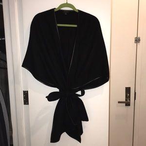 Ann Taylor wool kimono wrap